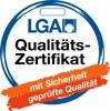 LGA Qualitätszertifikat mit Sicherheit geprüfte Qualität