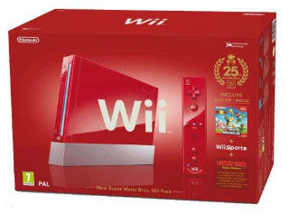 Donkey Kong: Free Game Giveaway Nintendo-wii-jubilaeums-pak-konsole-inkl.-wii-sports-new-super-mario-bros.-wii-donkey-kong-remote-plus-controller-red-von-nintendo