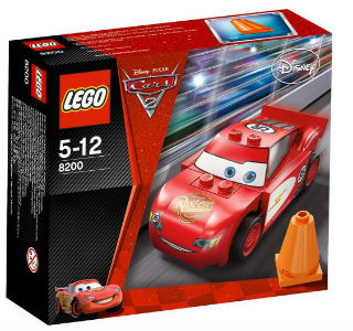LEGO CARS (8200) Radiator Springs - Lightning McQueen