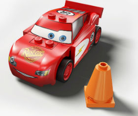 LEGO CARS Radiator Springs - Lightning McQueen
