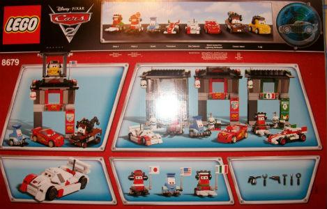 Lego Disney Cars 2 - Tokyo International Circuit  (Limited Edition)