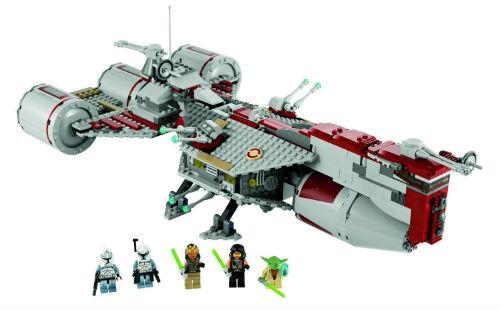 spielen lernen spielzeug lego star wars republic frigate