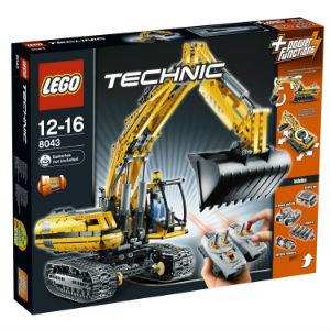 LEGO Technic - Motorisierter Raupenbagger 8043