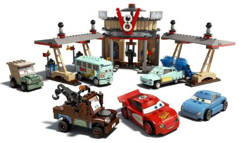 Lego Cars - Flo's V8 Café